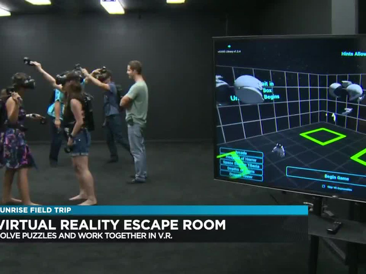 Sunrise Field Trip: A virtual reality experience with Chambers Escape Games