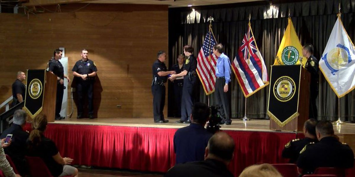 'No man left behind': Officers recognized for heroic actions during Marco Polo fire