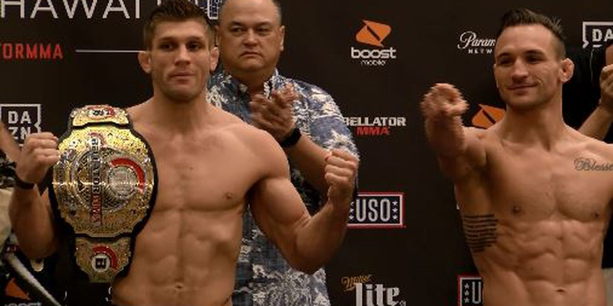 Time to fight: Bellator 212 ceremonial weigh-ins, faceoffs