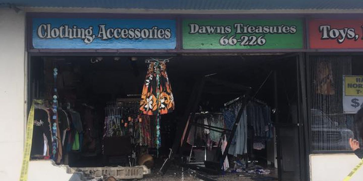 Haleiwa store owner devastated after thieves smash vehicle into shop