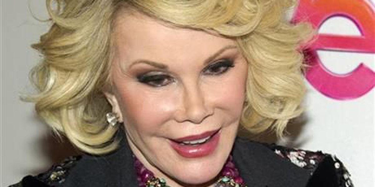 Family: Joan Rivers on life support