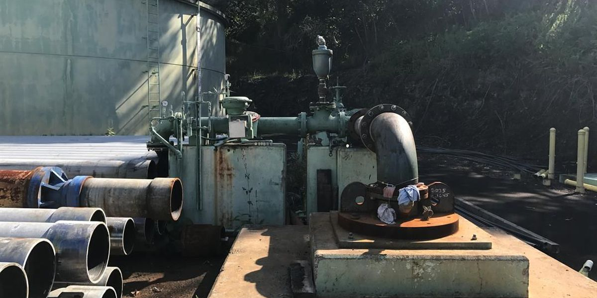 2 North Kona water wells repaired, 3 more still down