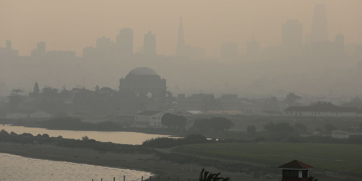 California wildfire emissions equal year of power pollution