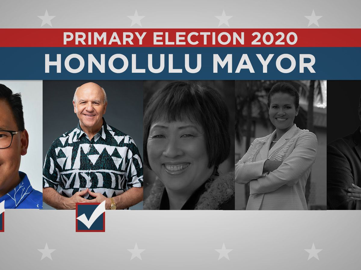 In race for Honolulu mayor, Blangiardi and Amemiya will face off in general election