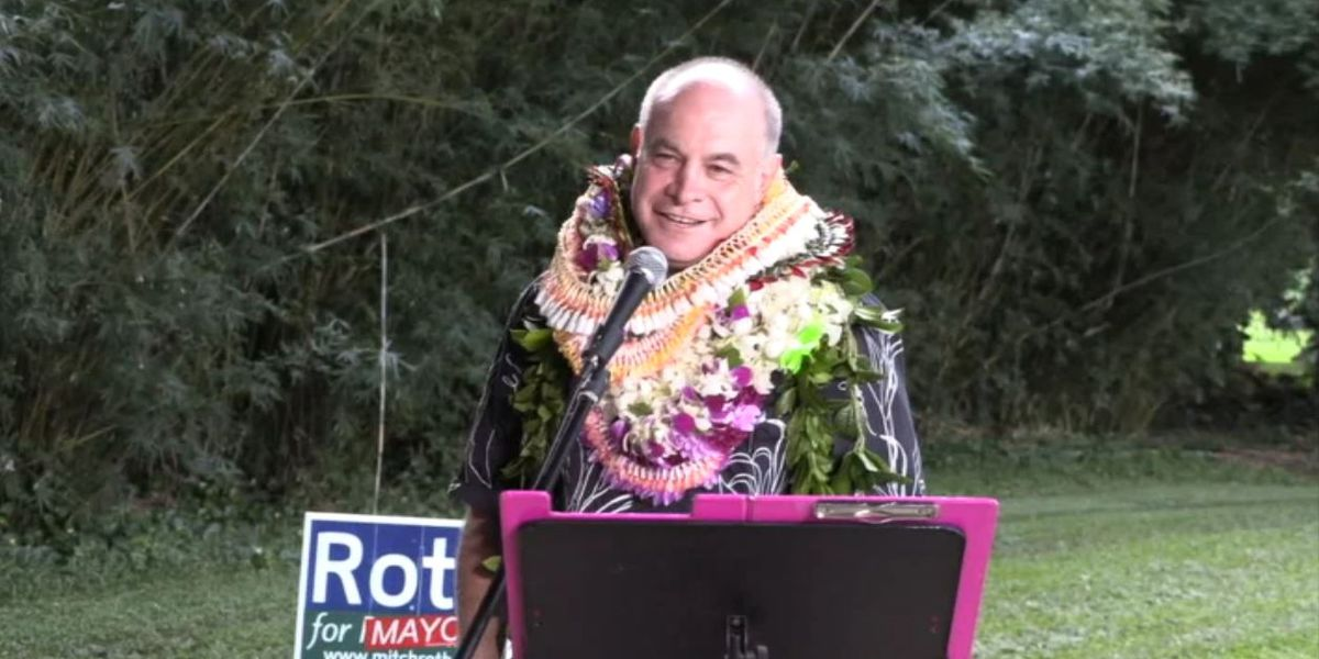 Mitch Roth, Hawaii County Prosecutor, announces mayoral run