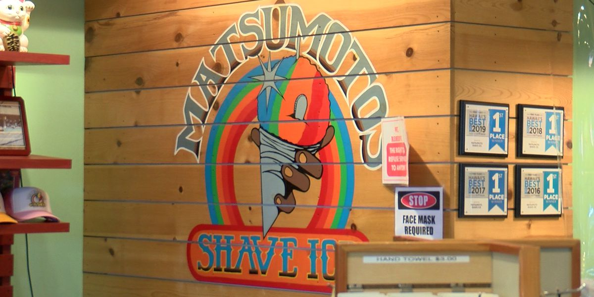 Matsumoto Shave Ice, an island institution, struggles to keep the doors open