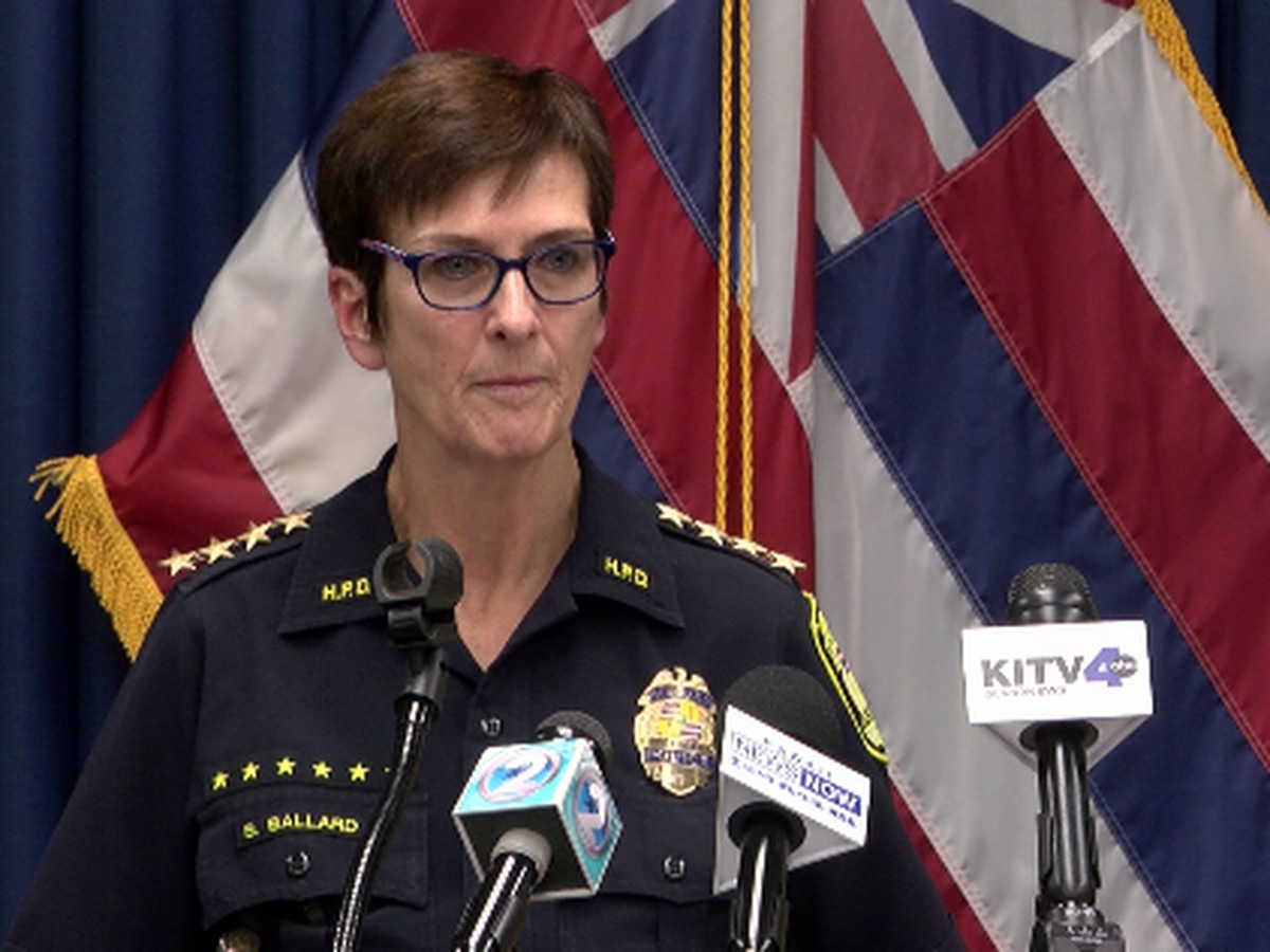 Saying she no longer has police commission's trust, HPD chief announces she'll step down