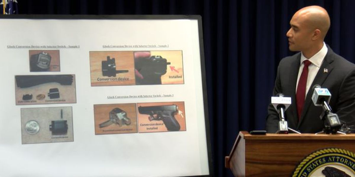 Authorities raise alarm about illegal use of gun conversion device in Hawaii