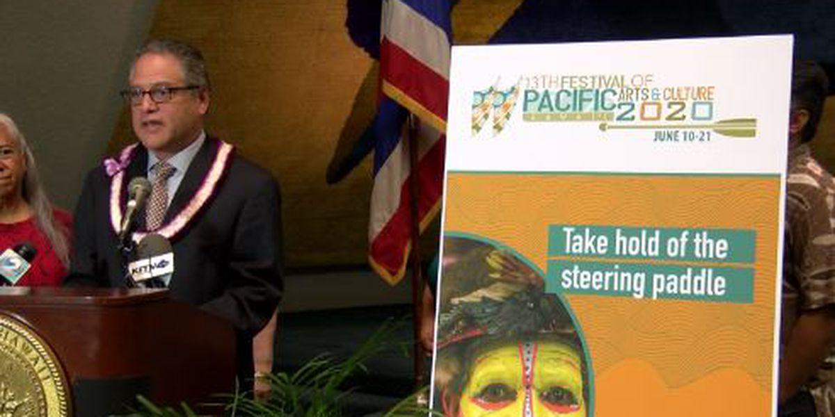 FESTPAC, a large international festival set for Honolulu, postponed to June 2024
