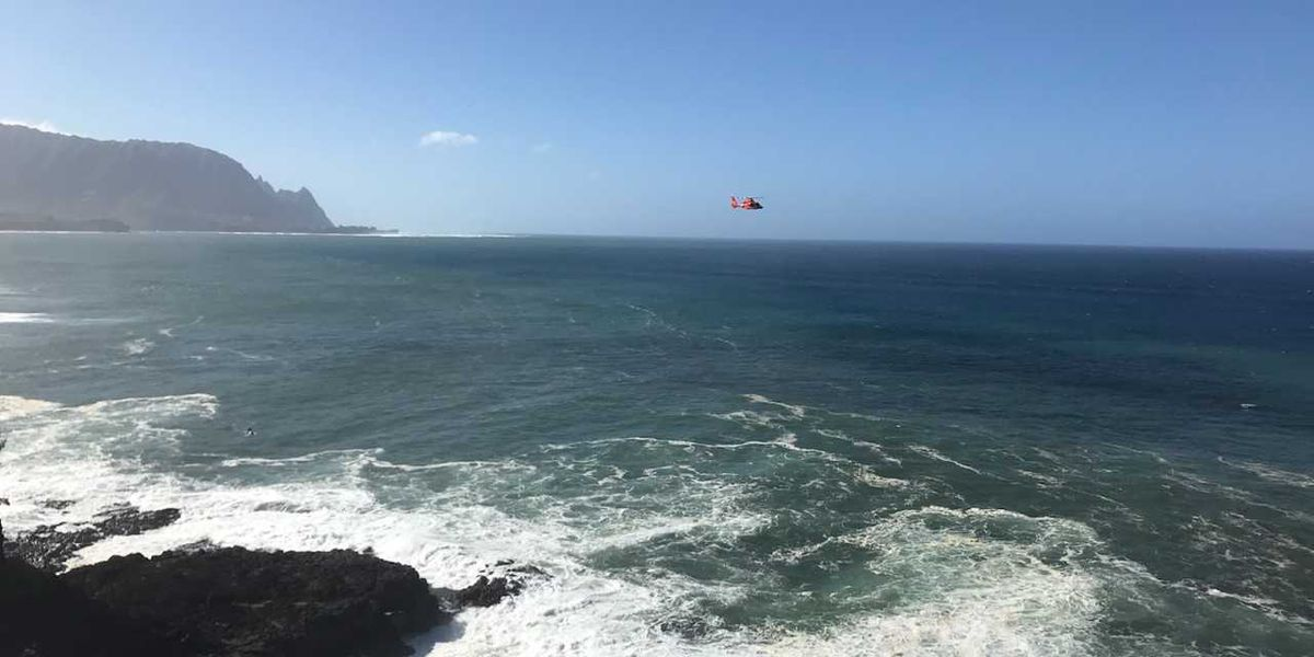 Search suspended for California woman swept off rocks off Kauai