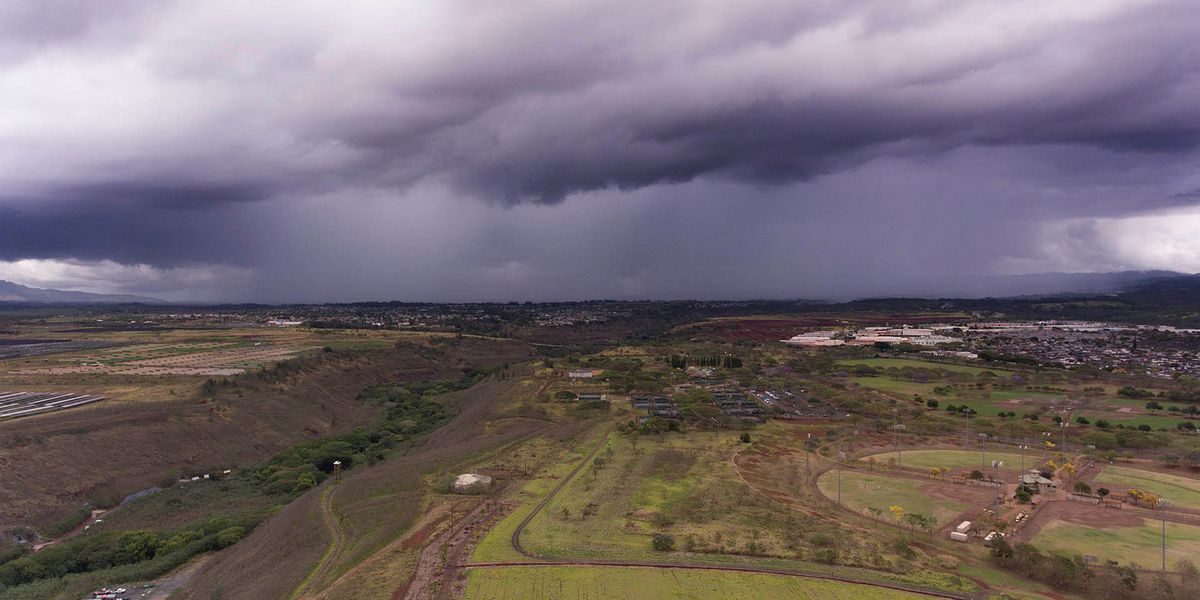 Unstable weather brings heavy rain to parts of Oahu