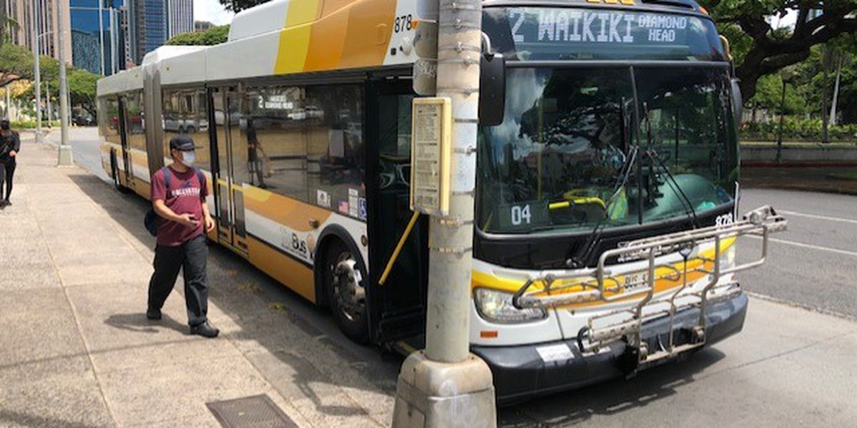 Daily screenings will now be routine for Honolulu city bus drivers