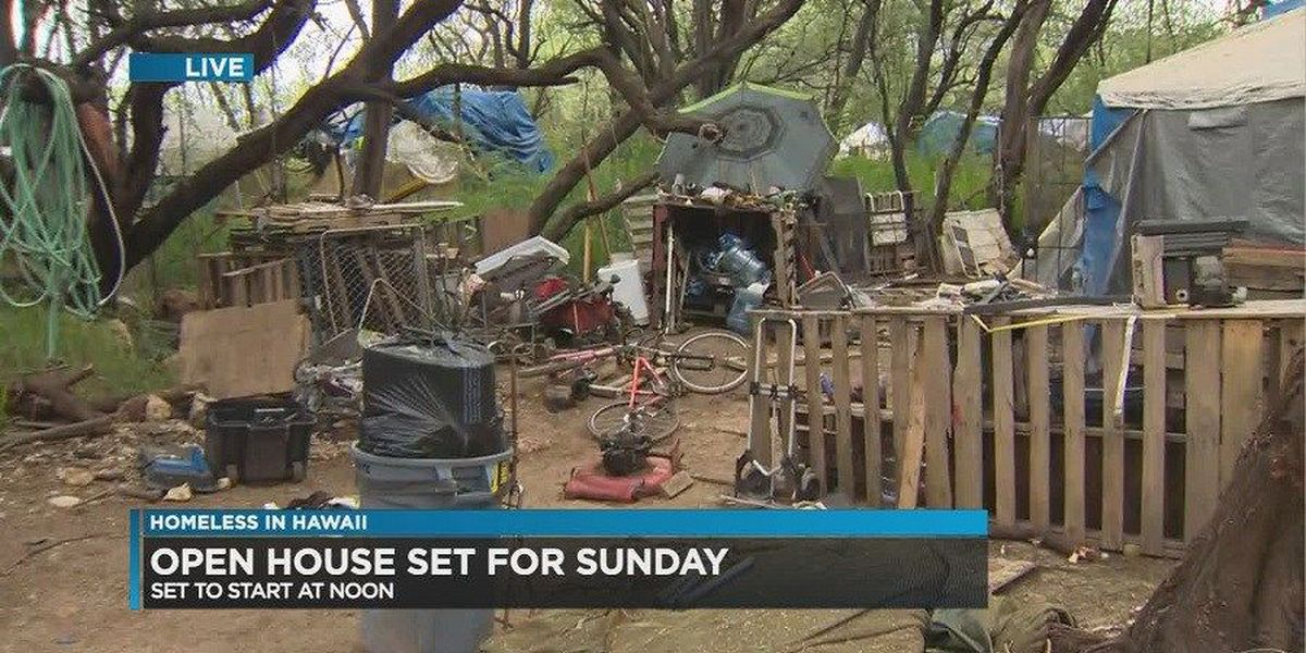 Fearing eviction, Waianae homeless village leaders invite public for a tour