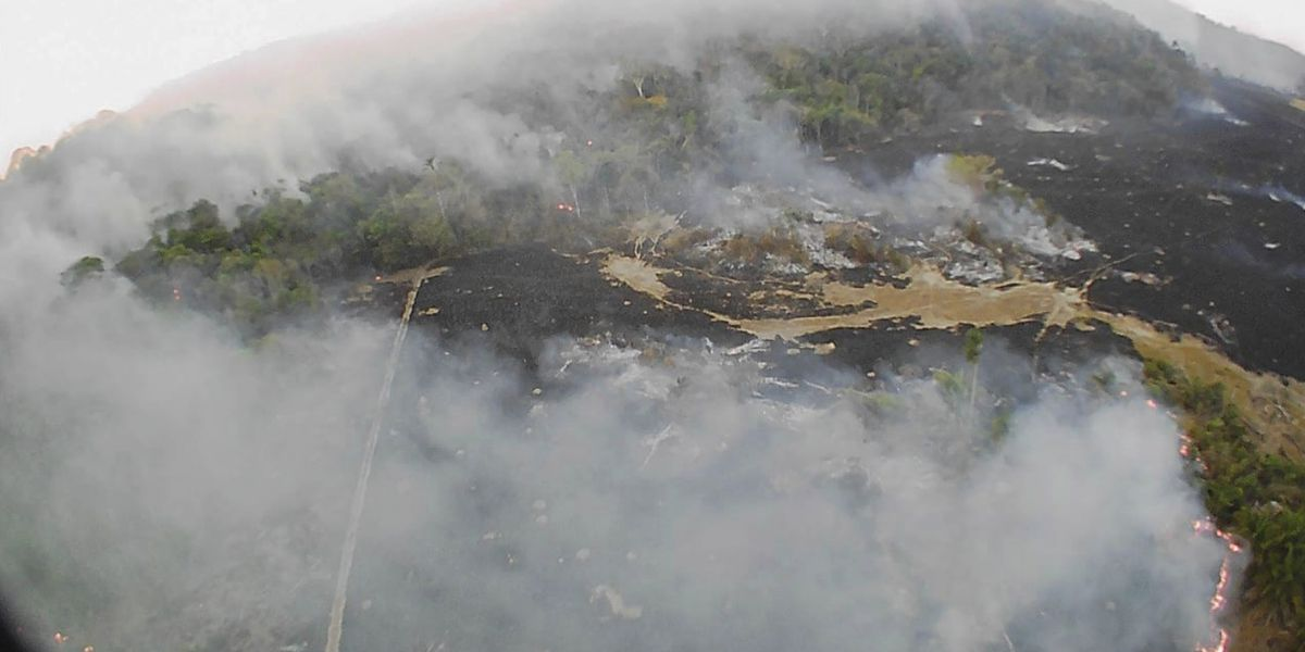 Brazilian president to send army to fight huge fires in the Amazon