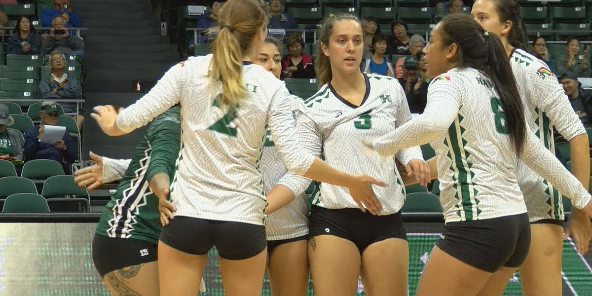 UH sweeps Western Carolina in opening match of Rainbow Wahine Classic