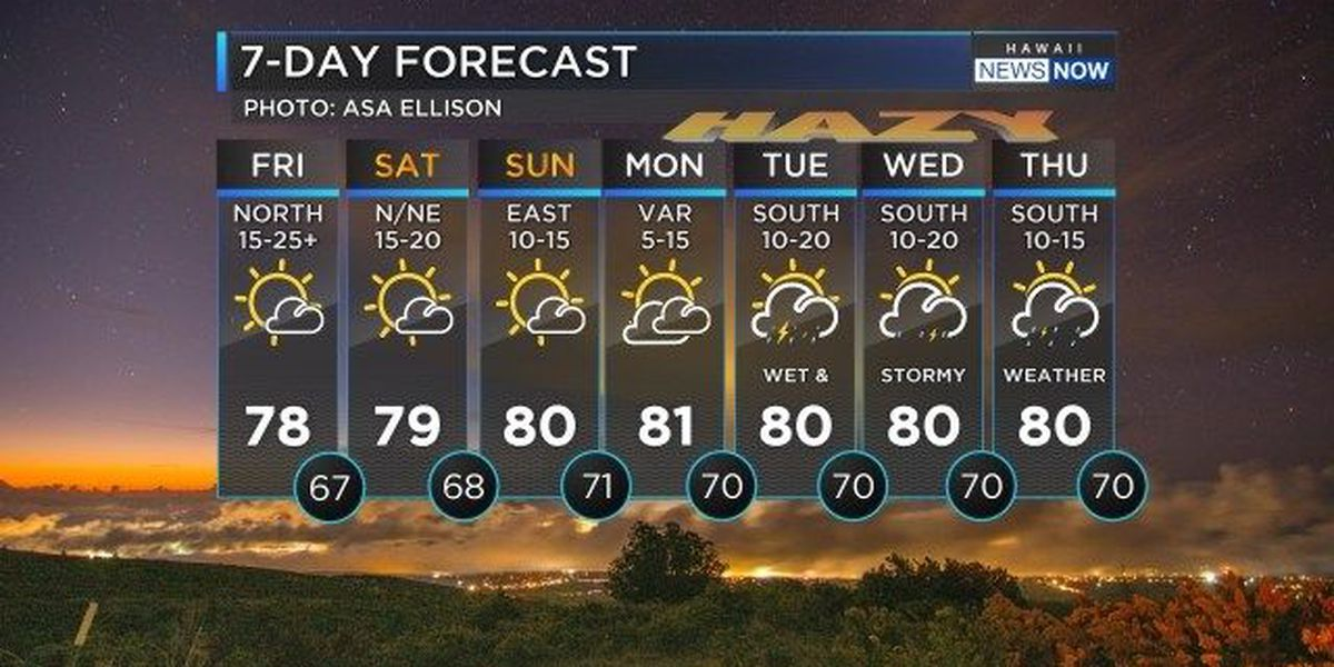 Forecast: Enjoy this weekend before stormy weather returns