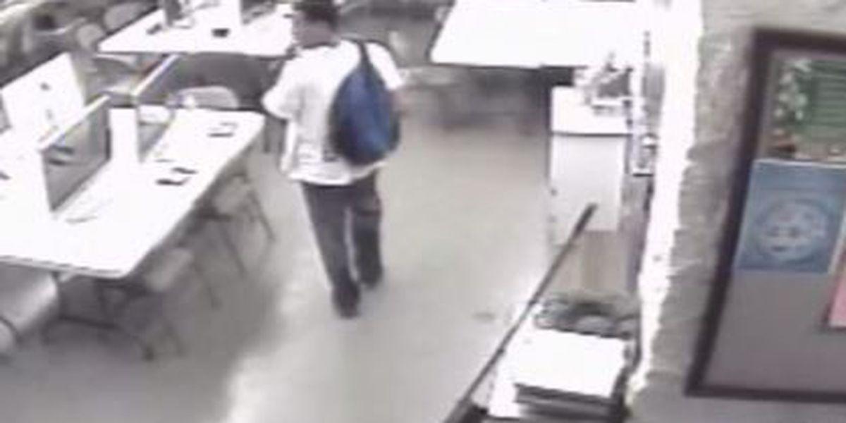 Surveillance video shows theft at Waipahu Intermediate School