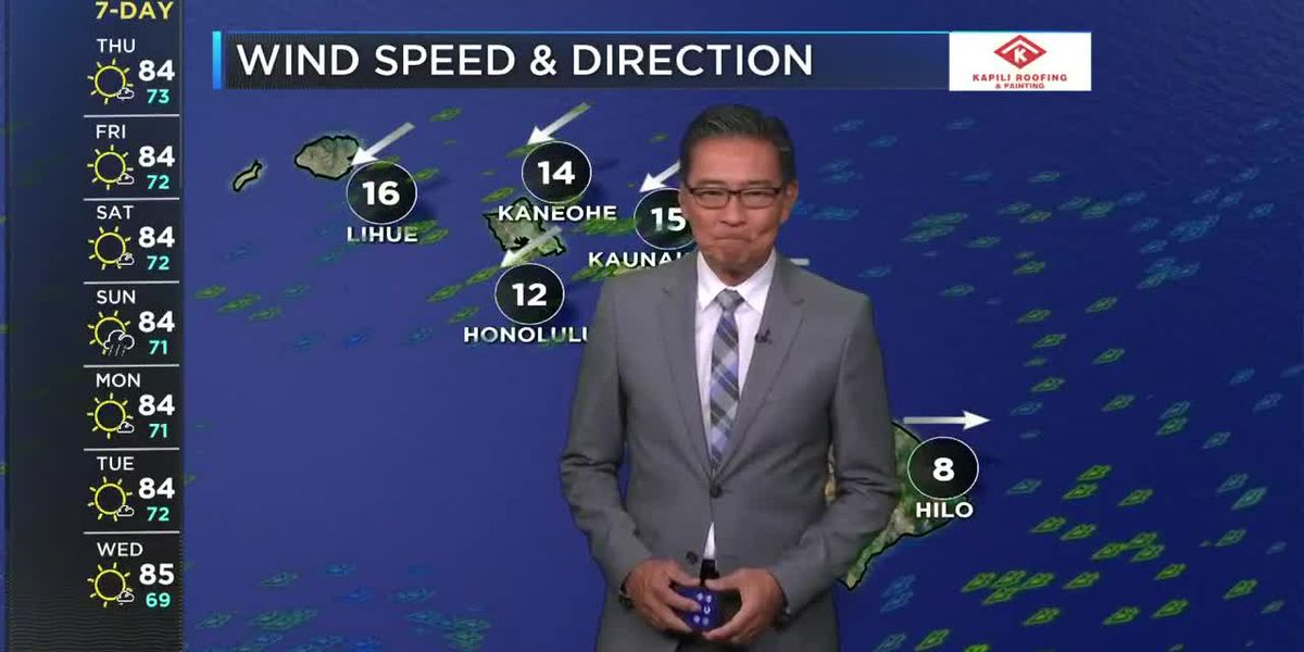 HNN Morning Web Weather Thursday, May 13, 2021