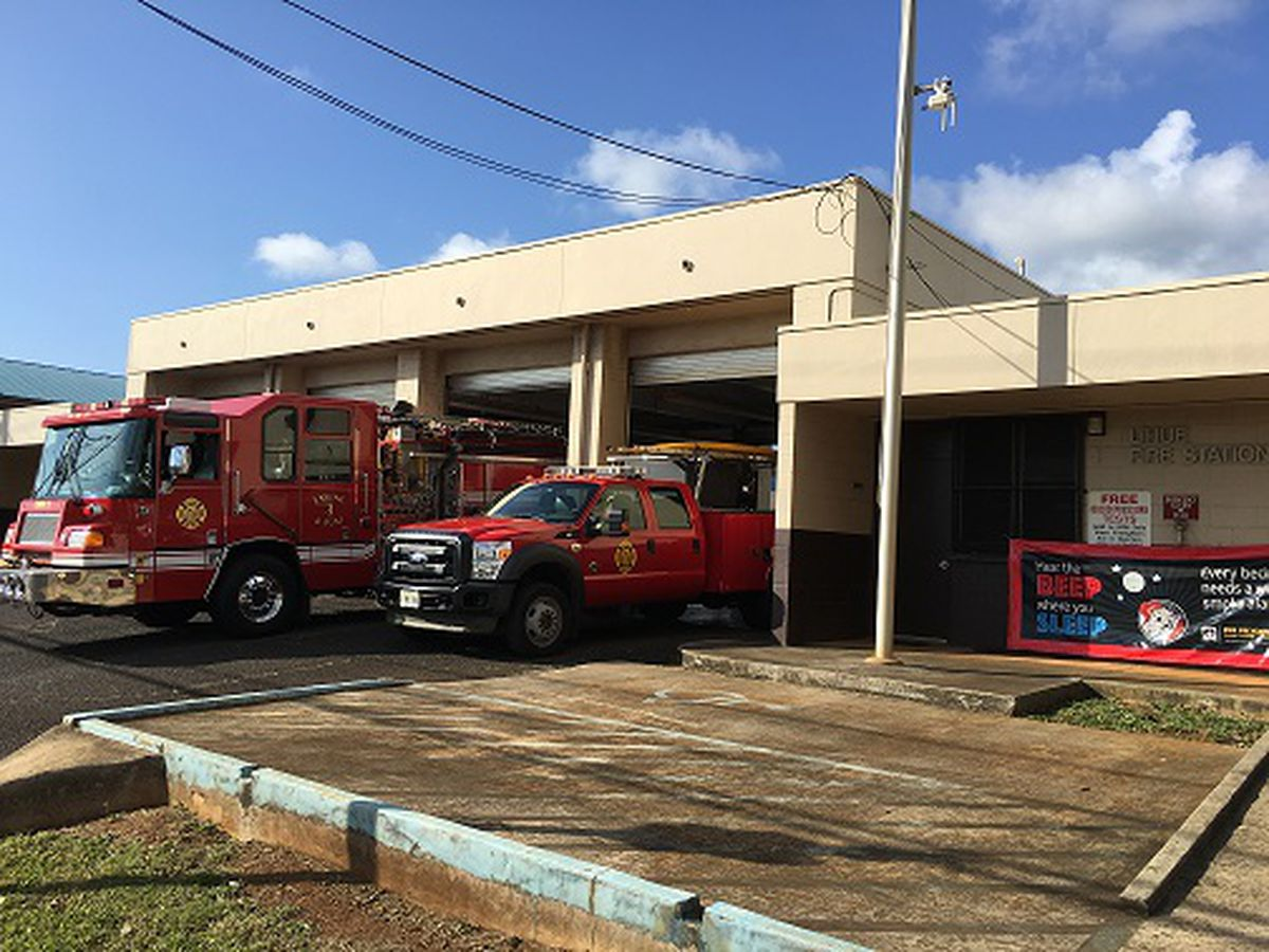 Kauai firefighters nearing raises as council committee advances new contracts