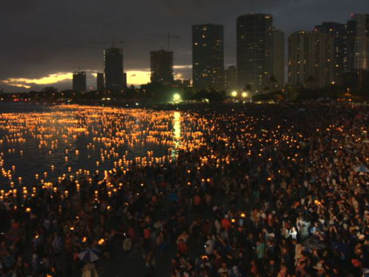 KGMB to air special Lantern Floating Hawaii broadcast on Memorial Day