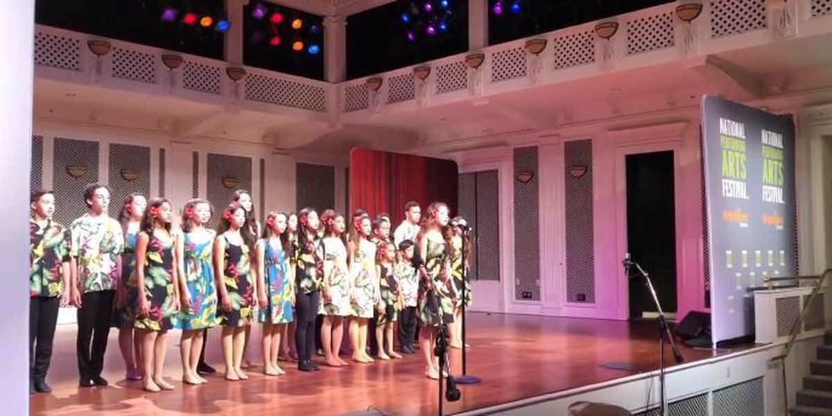 Kapolei group wows crowds at national festival with 'Moana' medley