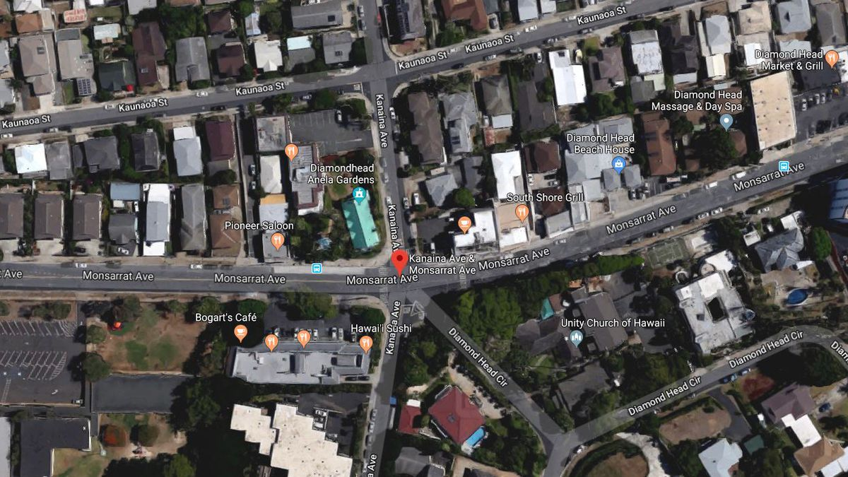 Pedestrian accident near Kapiolani Park leaves a man in serious condition