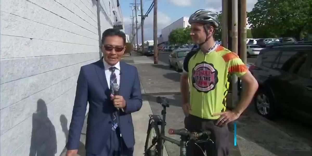 New bike campaign promotes buffer zones on the streets