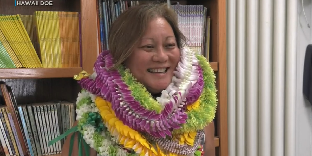 Nanakuli principal receives national recognition for her leadership in education