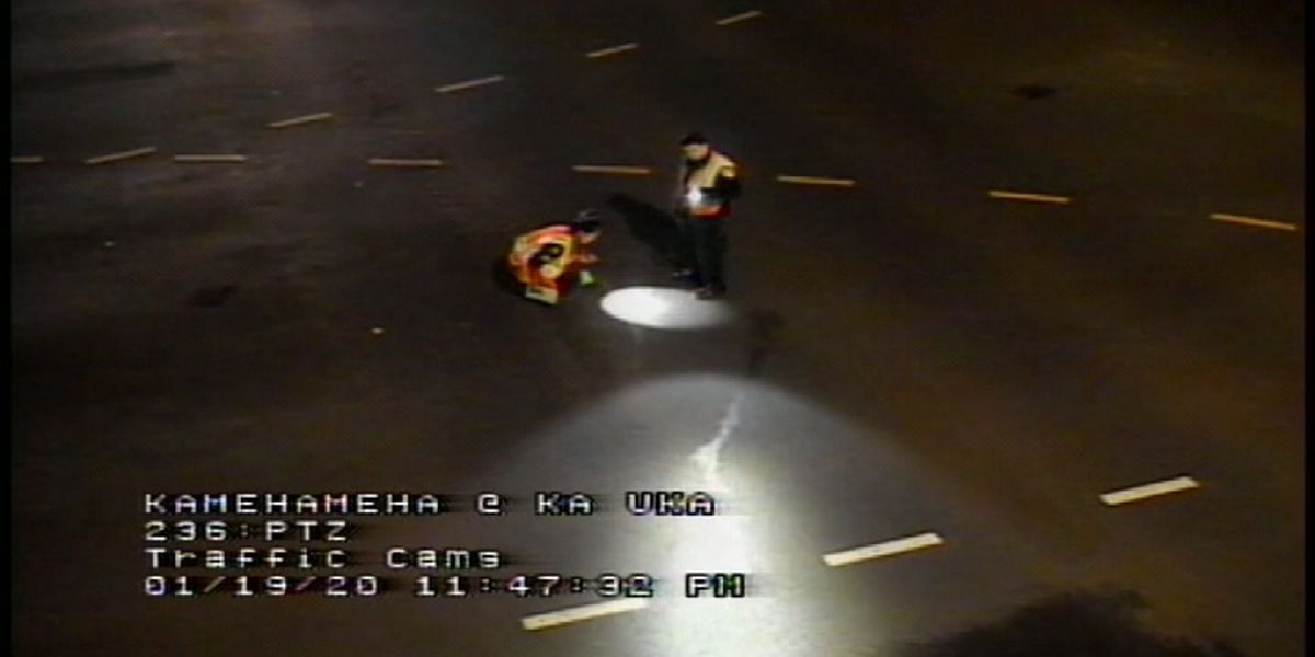 Pedestrian killed in hit-and-run crash in Waipio