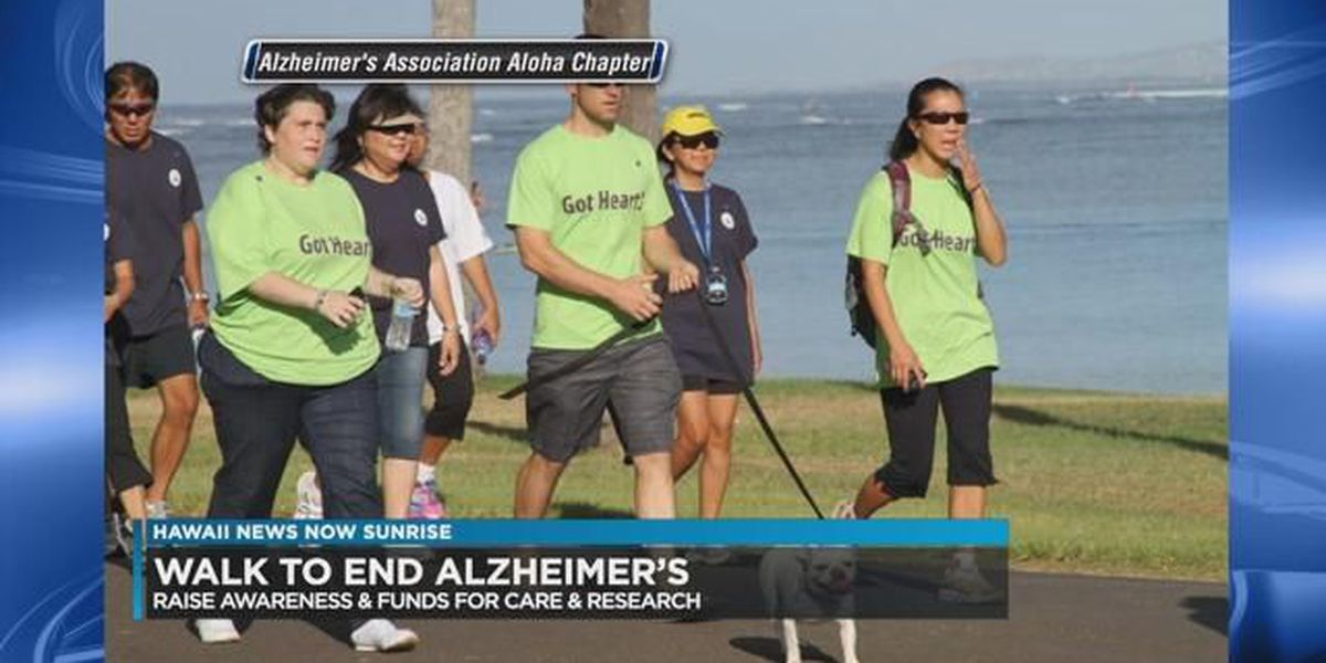 Alzheimer's walk in Hawaii to help fight against the disease