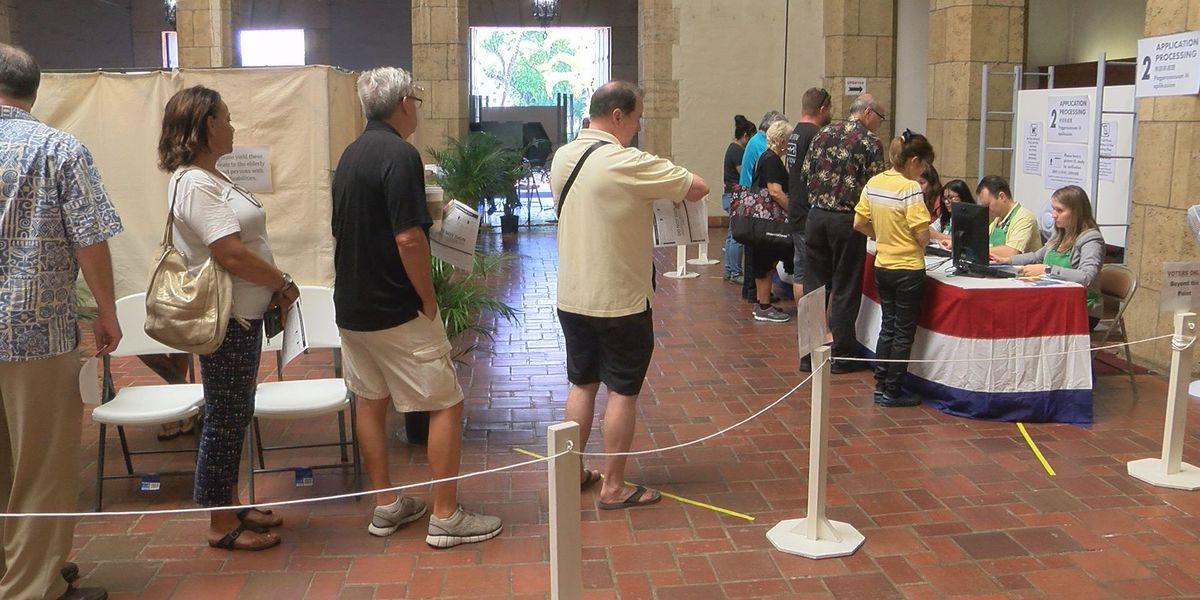 Ige, Hirono cast ballots as Hawaii's early voting deadline nears