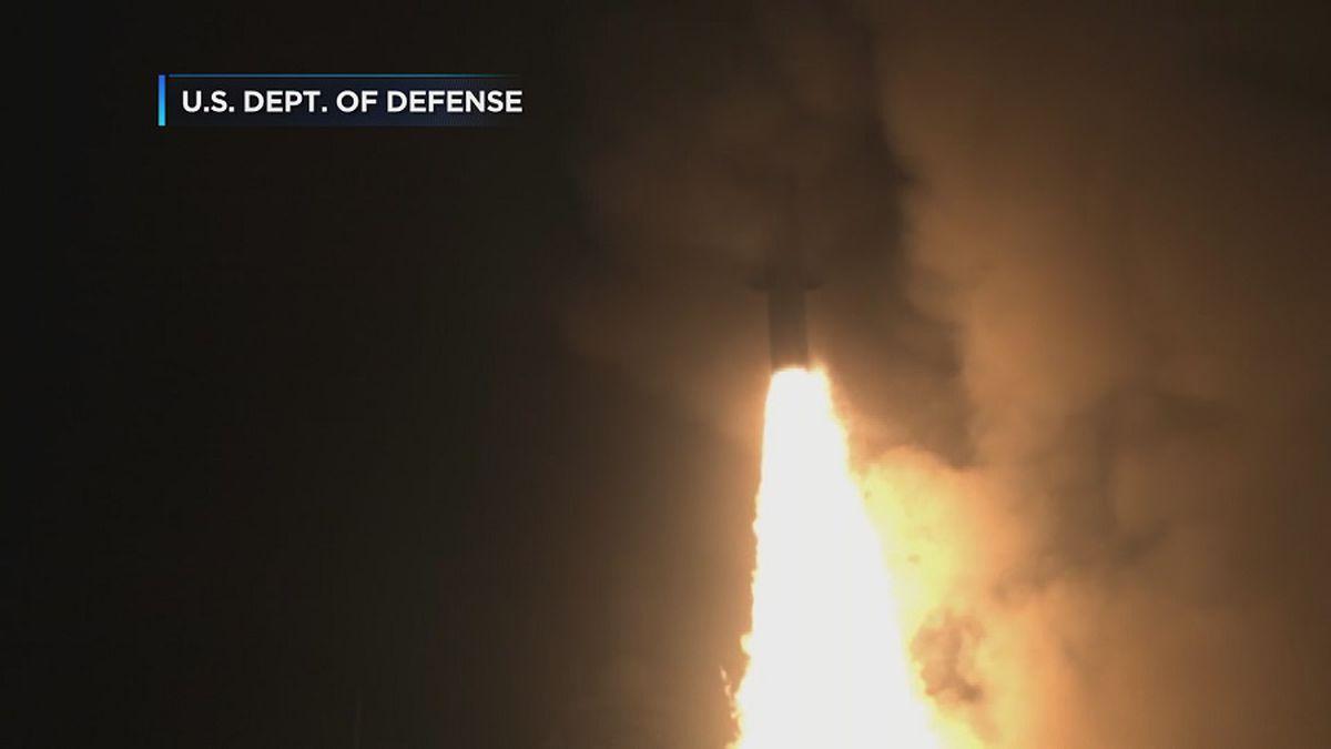 US successfully shoots down intermediate-range ballistic missile in test off Kauai