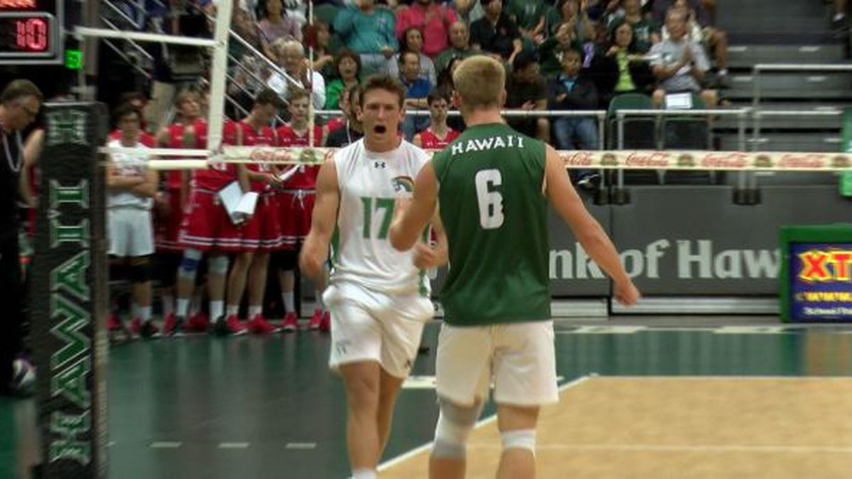 UH Men's Volleyball tops latest AVCA rankings