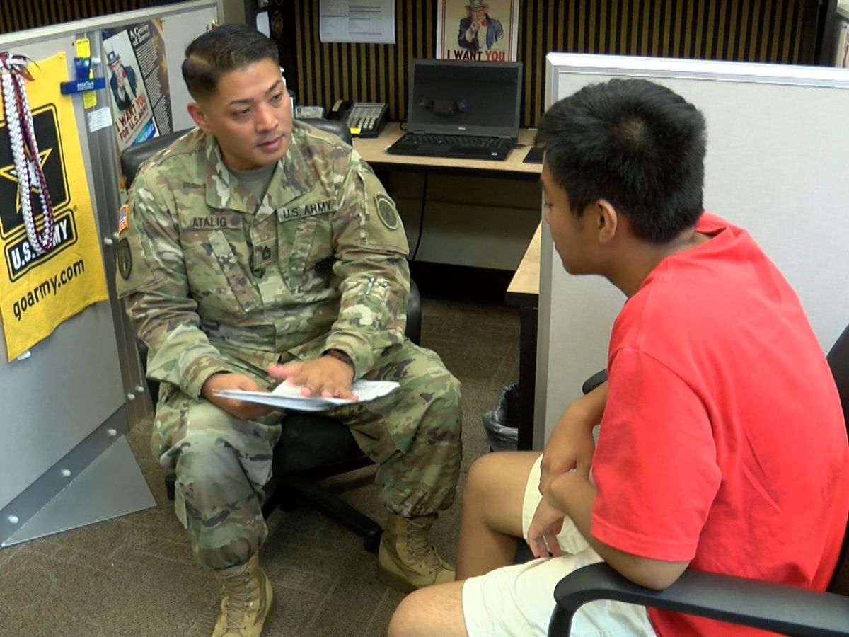 Being all that you can be: A day in the life of a U.S. Army recruiter
