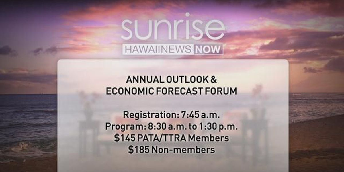 PATA and TTRA 2018 Annual Outlook & Economic Forecast Forum