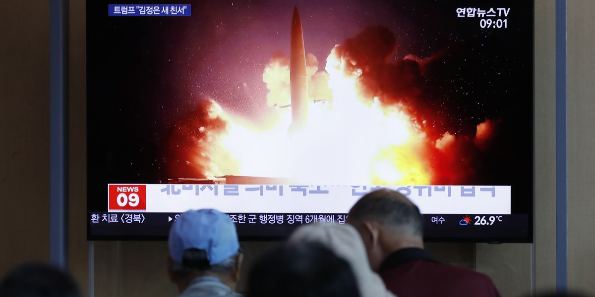S. Korea says N. Korea has fired projectiles off east coast