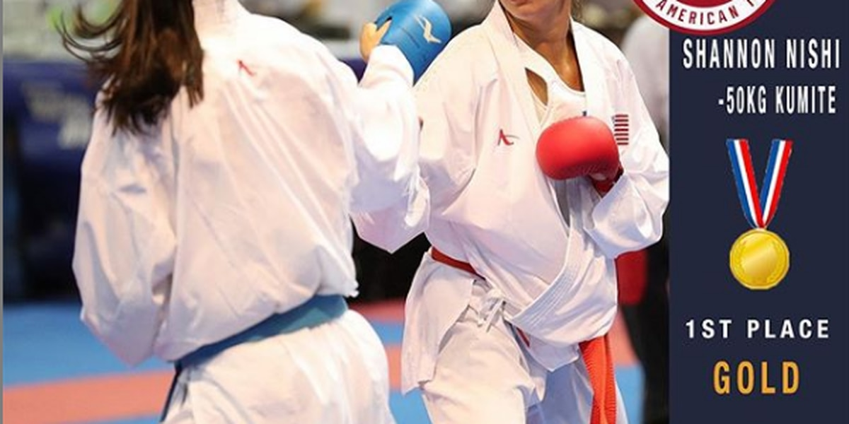 Shannon Nishi-Patton captures Gold at Pan American Games