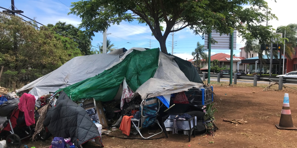 Kahului's homeless crisis gets an unflattering comparison: It's starting to look like Honolulu's