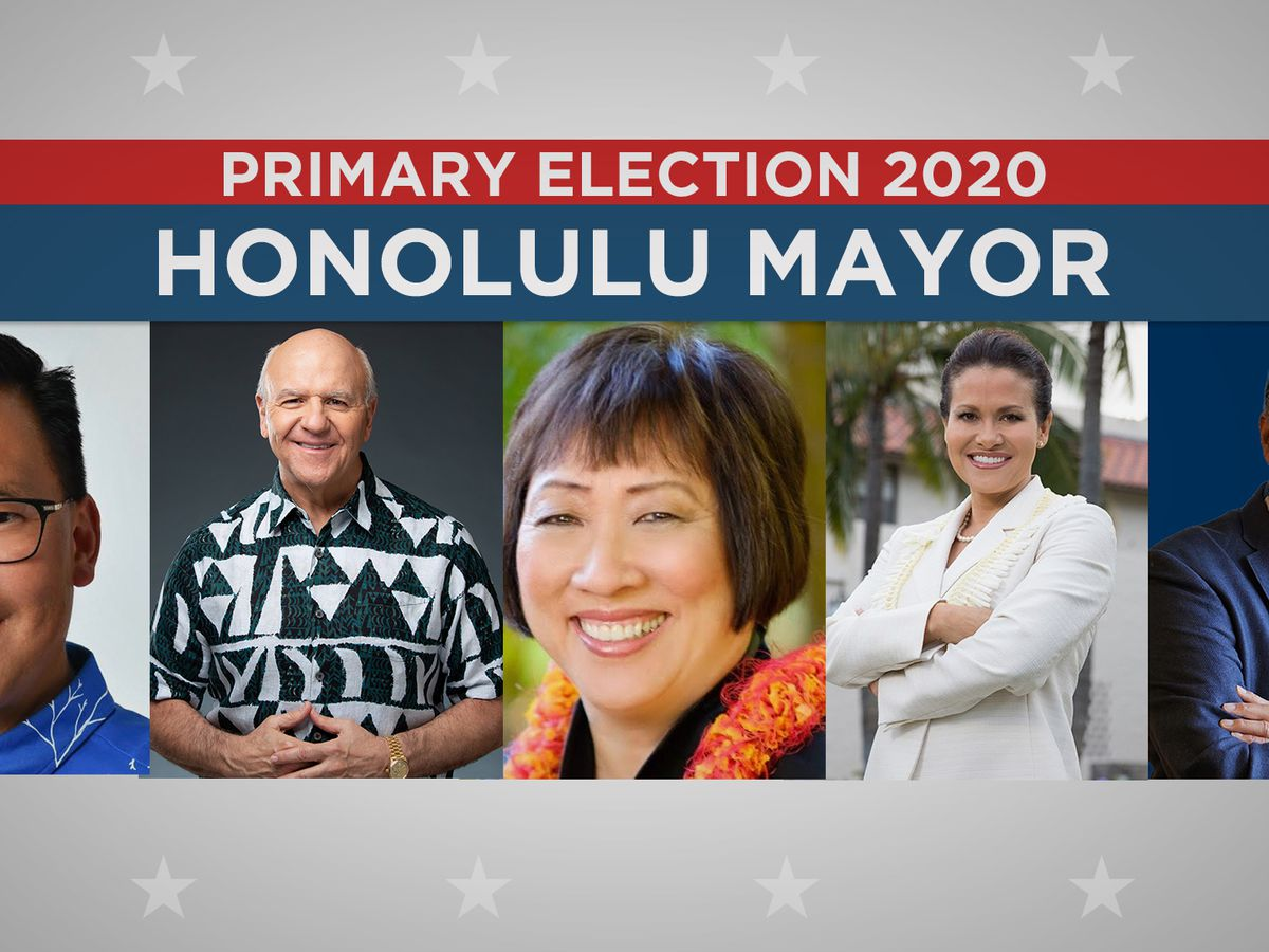 5 leading contenders for Honolulu mayor make final pitch in primary election