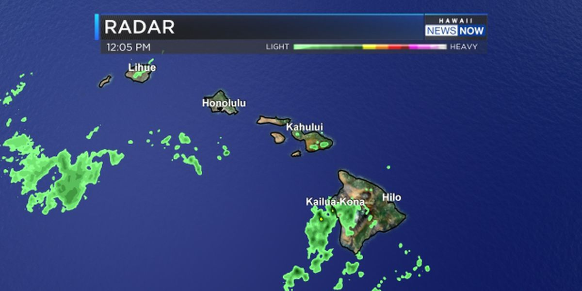Flash flood watch issued for Maui County, Big Island for possible heavy rains