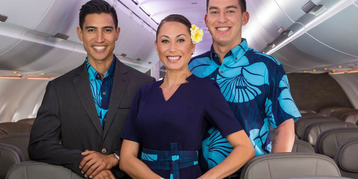 Check it out! Hawaiian Airlines uniforms have a new look