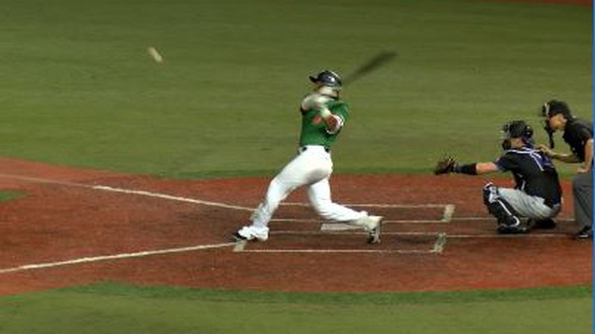 Basebows fall in home opener 10-4