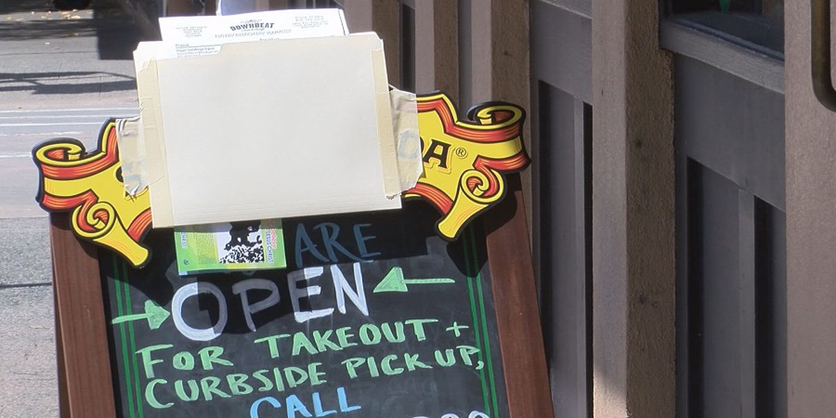 New online resource lists local eateries that are closed or open for takeout