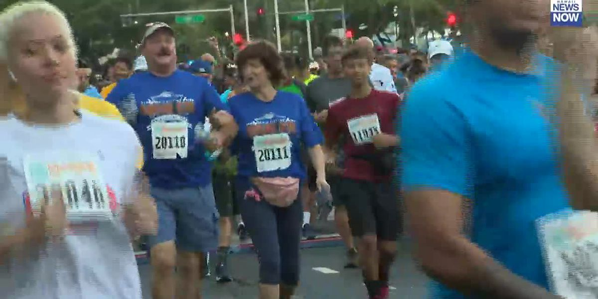 Congrats! Thousands of runners participated in this years Great Aloha Run