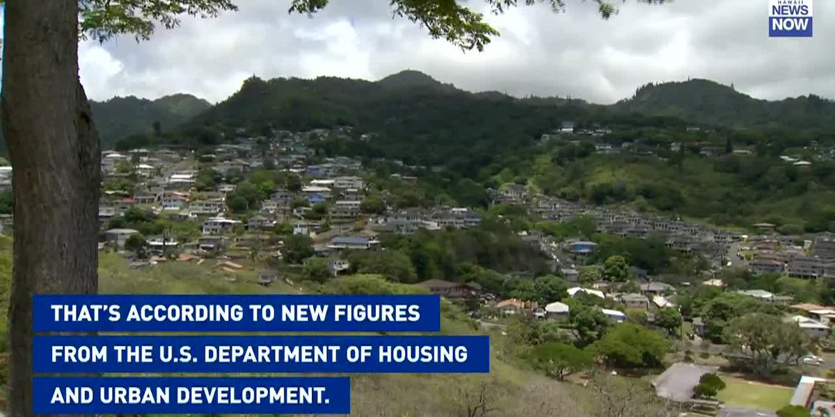 Someone earning $67,500 a year on Oahu is now considered 'low income'