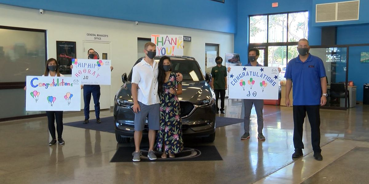 Keolu Elementary teacher scores a sweet new ride for her dedication to students