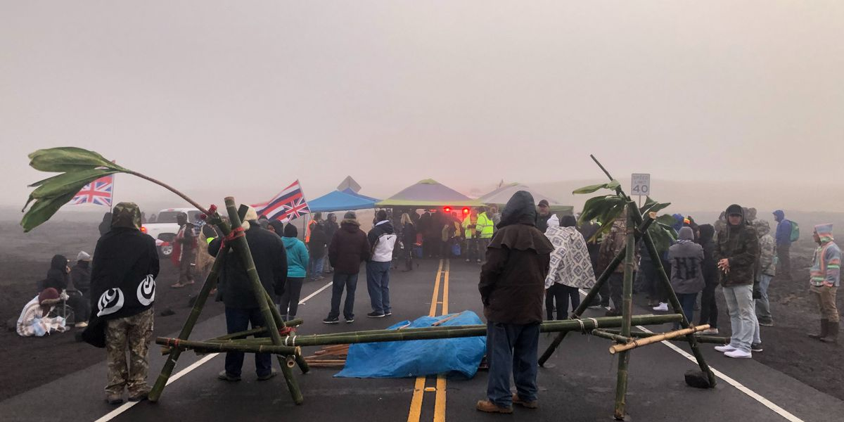 OHA on Mauna Kea arrests 'The Native Hawaiian community weeps today