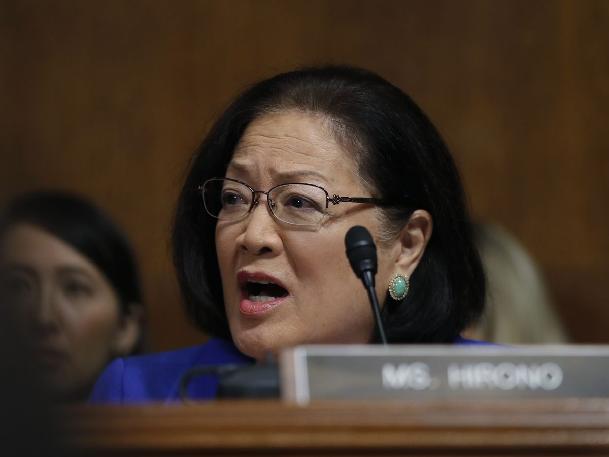 As she prepares for impeachment trial, Hirono says President is 'stonewalling' Senate