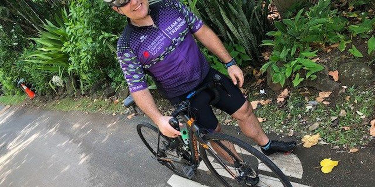Driven by personal loss, a doctor takes on the Ironman for a good cause