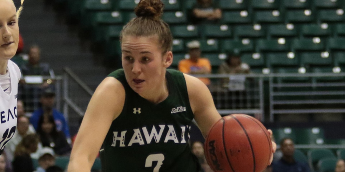 Wahine dominate Cal Poly in road win